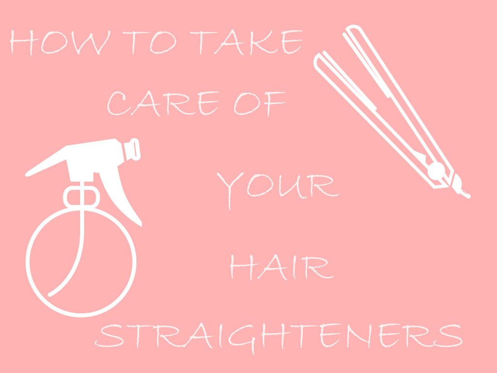 How To Look After Your Hair Straighteners