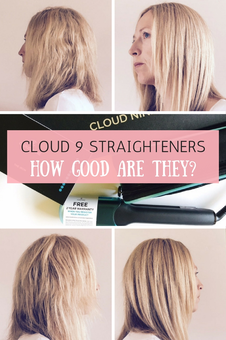 Cloud 9 Straighteners for thick hair